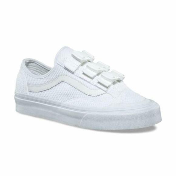 d216ad9eb8eebf Vans Style 36 Buckle Mesh Classic Skate Shoes. NWT. Vans.  75  0. Size